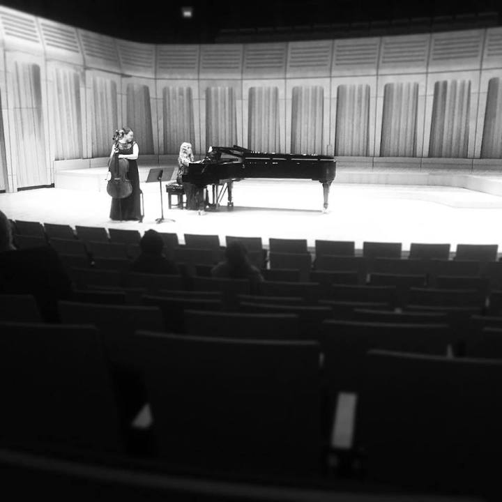 Concerto Competition Finals, Dora Stoutzker Hall, January 2016