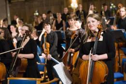 Final performance with the Edinburgh Youth Orchestra