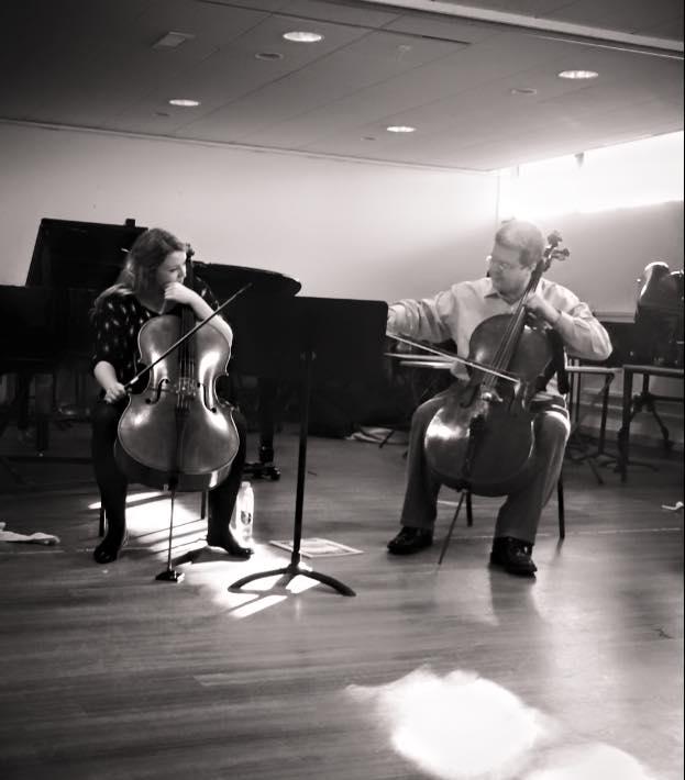 Masterclass with Paul Watkins, November 2014