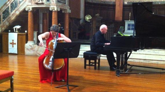 Undergraduate Performance at St Cuthbert's Church, Edinburgh